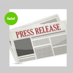 premium press release on sale