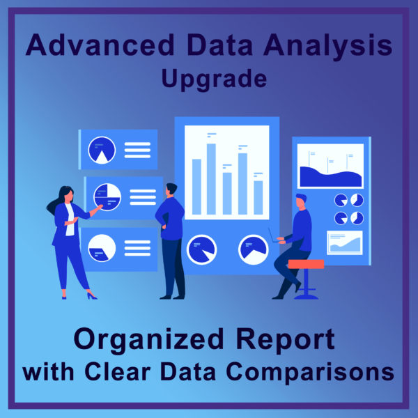 Advanced Data Analysis Upgrade