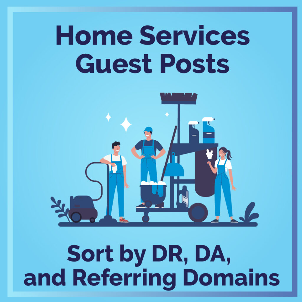 Home Services Guest Posts