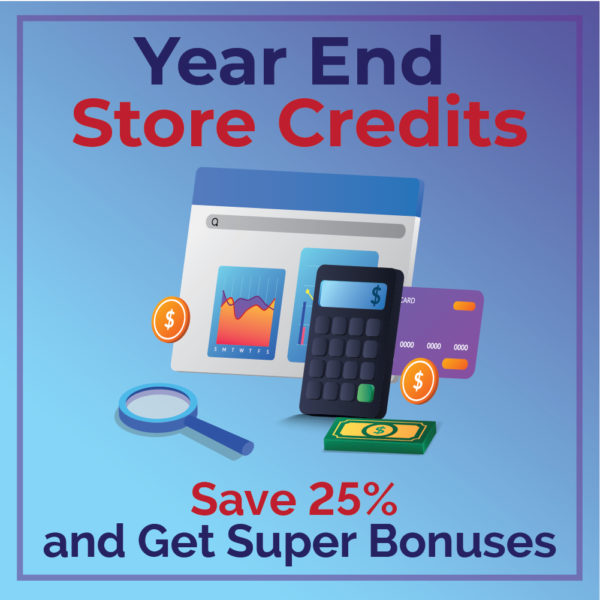 Year End Sale Credits